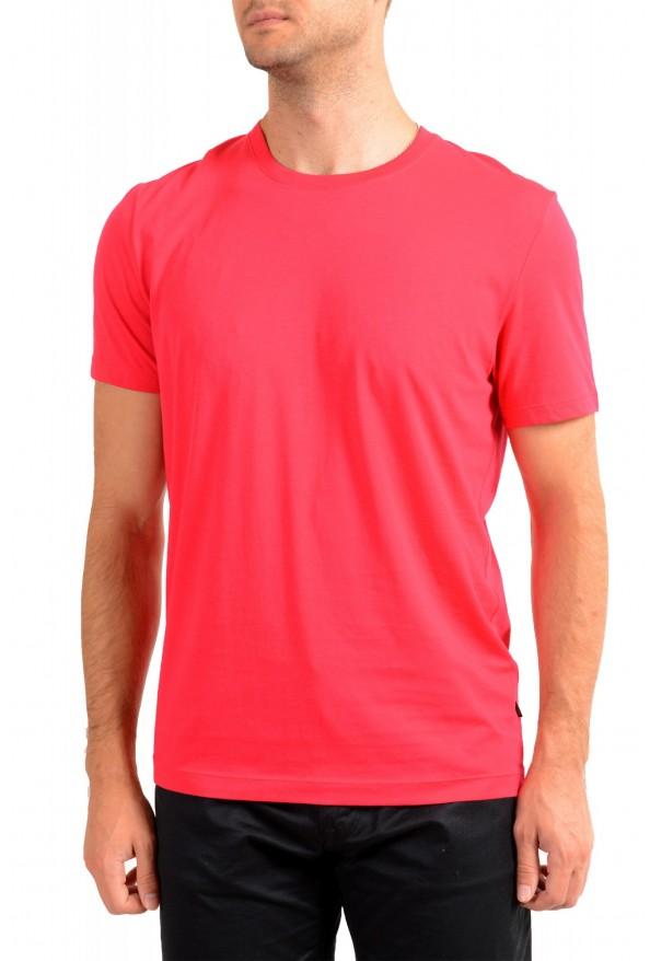 "Hugo Boss Men's ""Tiburt 55"" Red Crewneck T-Shirt"