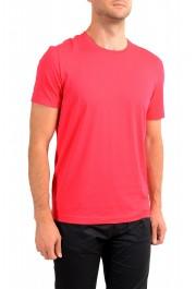 "Hugo Boss Men's ""Tiburt 55"" Red Crewneck T-Shirt: Picture 2"
