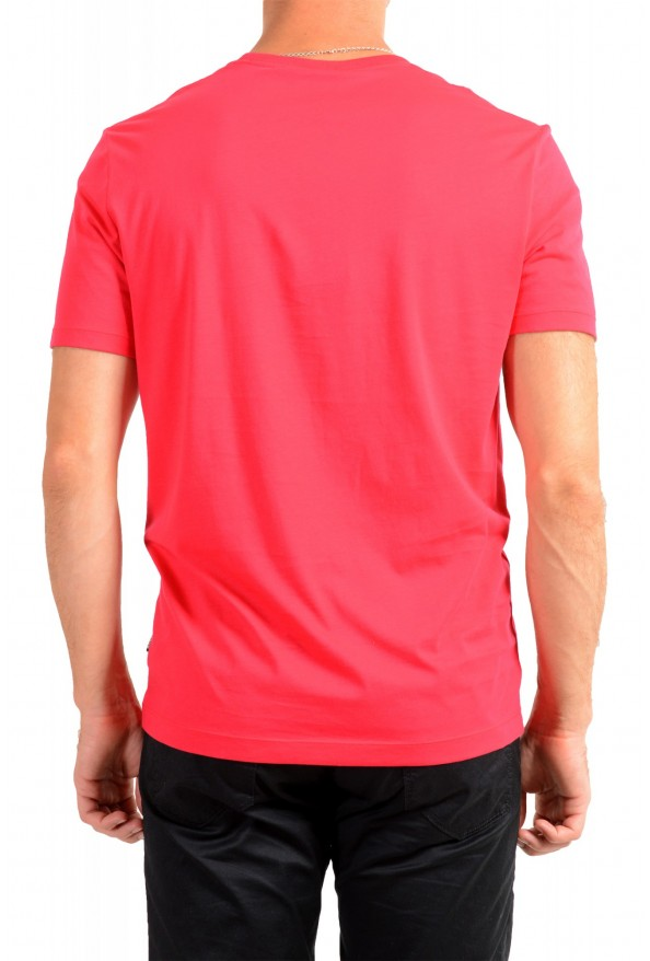 "Hugo Boss Men's ""Tiburt 55"" Red Crewneck T-Shirt: Picture 3"