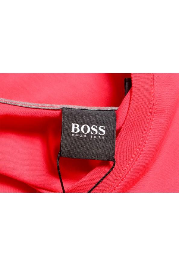 "Hugo Boss Men's ""Tiburt 55"" Red Crewneck T-Shirt: Picture 5"