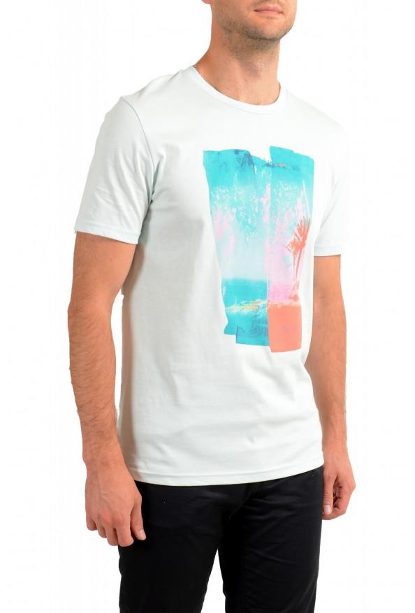 "Hugo Boss Men's ""Tepastel"" Multi-Color Graphic Print Crewneck T-Shirt : Picture 2"