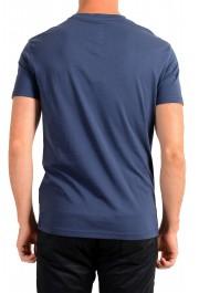 "Hugo Boss Men's ""T-Shirt RN Slim Fit"" Blue Crewneck T-Shirt: Picture 3"