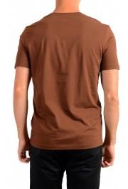 "Hugo Boss Men's ""Canistro 80"" Brown V-Neck T-Shirt: Picture 3"