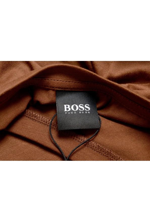 "Hugo Boss Men's ""Canistro 80"" Brown V-Neck T-Shirt: Picture 5"