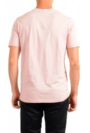 "Hugo Boss Men's ""Teally"" Pink Graphic Print Crewneck T-Shirt: Picture 3"