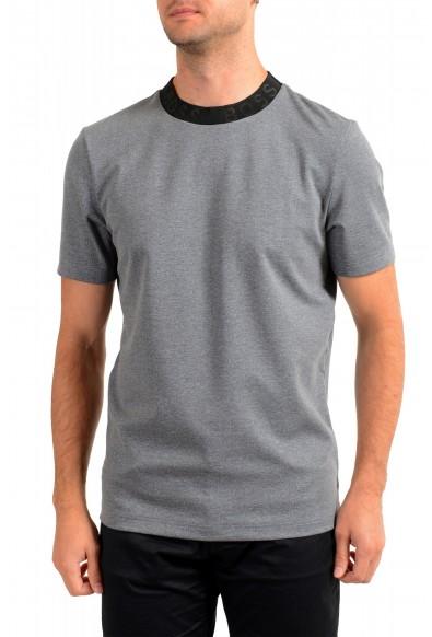 "Hugo Boss Men's ""Tiburt 232"" Gray Crewneck T-Shirt"