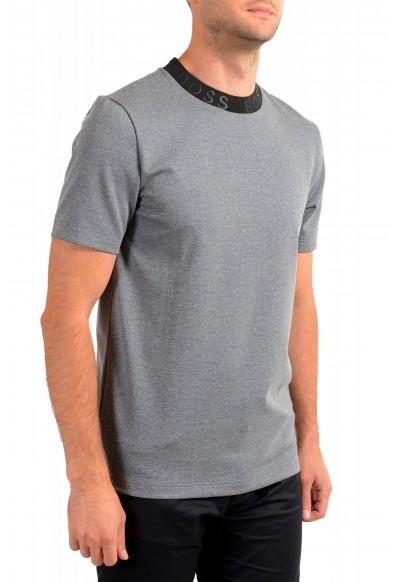 "Hugo Boss Men's ""Tiburt 232"" Gray Crewneck T-Shirt: Picture 2"