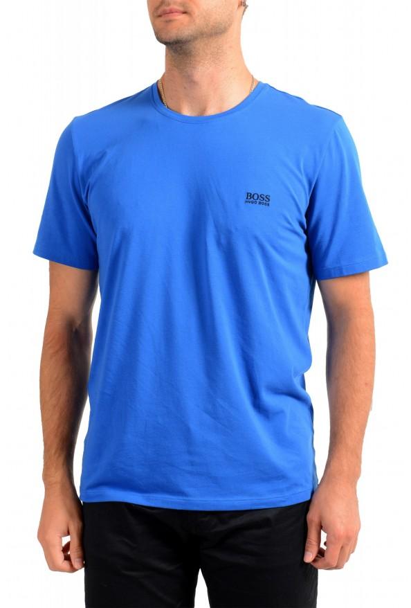 "Hugo Boss Men's ""Mix&Match"" Bright Blue Crewneck T-Shirt"