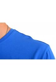 "Hugo Boss Men's ""Mix&Match"" Bright Blue Crewneck T-Shirt: Picture 4"