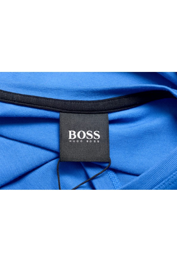 "Hugo Boss Men's ""Mix&Match"" Bright Blue Crewneck T-Shirt: Picture 5"