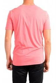 "Hugo Boss Men's ""Tee 9"" Pink Graphic Print Crewneck T-Shirt : Picture 3"