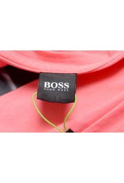 "Hugo Boss Men's ""Tee 9"" Pink Graphic Print Crewneck T-Shirt : Picture 5"