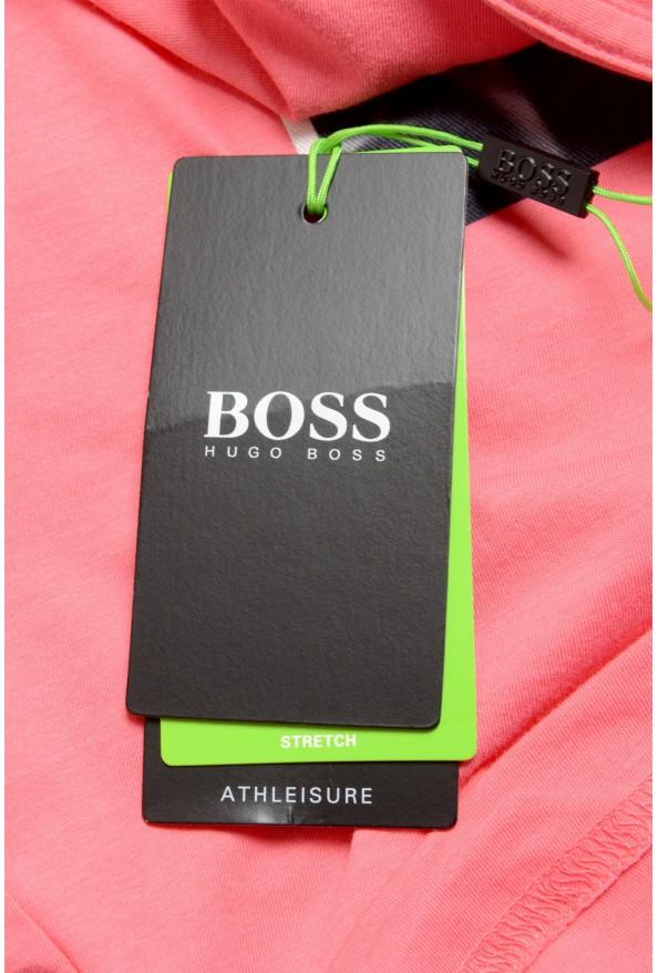 "Hugo Boss Men's ""Tee 9"" Pink Graphic Print Crewneck T-Shirt : Picture 6"