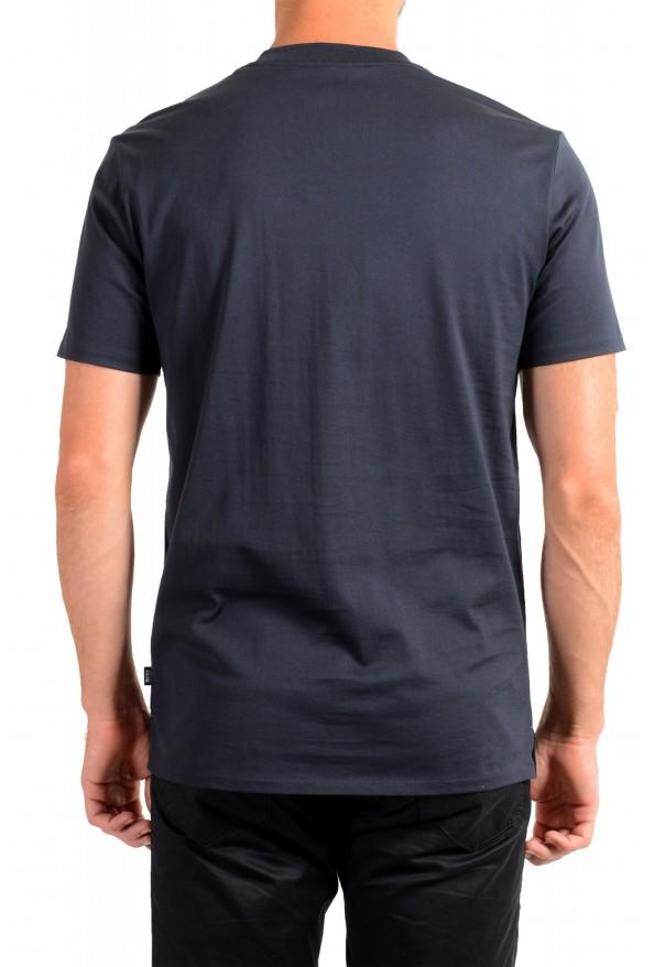 "Hugo Boss Men's ""Tiburt 209"" Blue Graphic Print Crewneck T-Shirt: Picture 3"