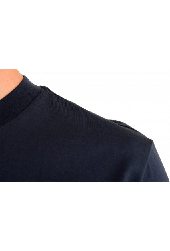 "Hugo Boss Men's ""Tiburt 209"" Blue Graphic Print Crewneck T-Shirt: Picture 4"