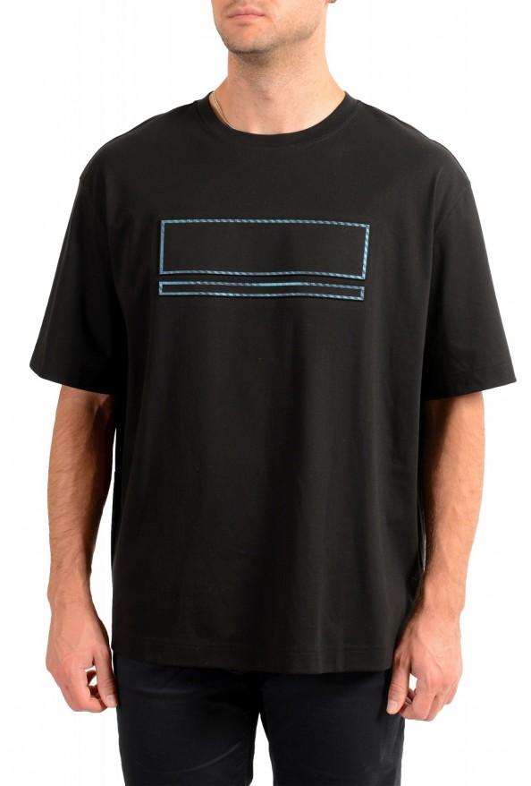 "Hugo Boss Men's ""Tover"" Oversized Fit Black Crewneck T-Shirt"
