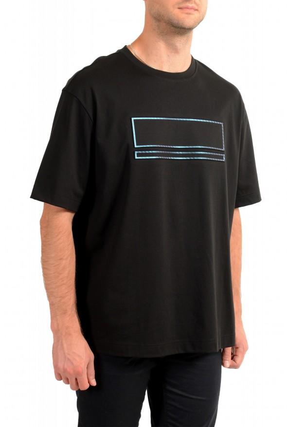 "Hugo Boss Men's ""Tover"" Oversized Fit Black Crewneck T-Shirt : Picture 2"