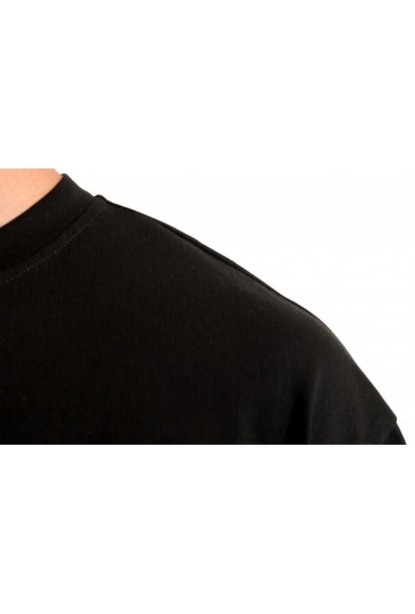 "Hugo Boss Men's ""Tover"" Oversized Fit Black Crewneck T-Shirt : Picture 4"