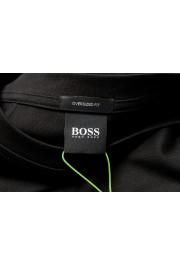 "Hugo Boss Men's ""Tover"" Oversized Fit Black Crewneck T-Shirt : Picture 5"