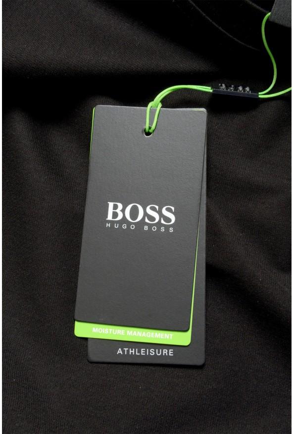 "Hugo Boss Men's ""Tover"" Oversized Fit Black Crewneck T-Shirt : Picture 6"