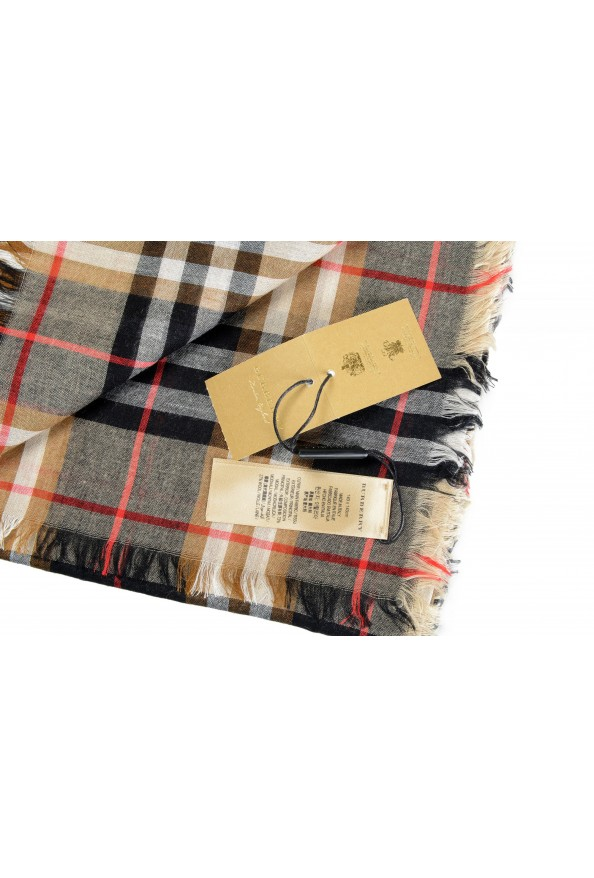 Burberry Unisex Multi-Color Plaid Wool Shawl Scarf: Picture 2