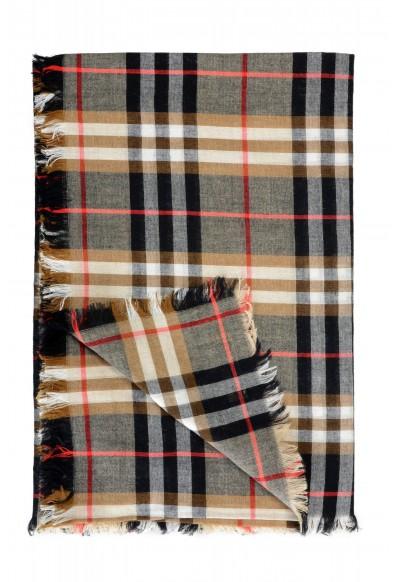 Burberry Unisex Multi-Color Plaid Wool Shawl Scarf