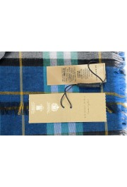 Burberry Unisex Multi-Color Plaid Wool Shawl Scarf: Picture 3