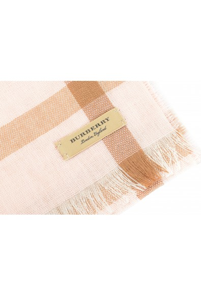 Burberry Unisex Multi-Color Plaid Wool Cashmere Shawl Scarf: Picture 2