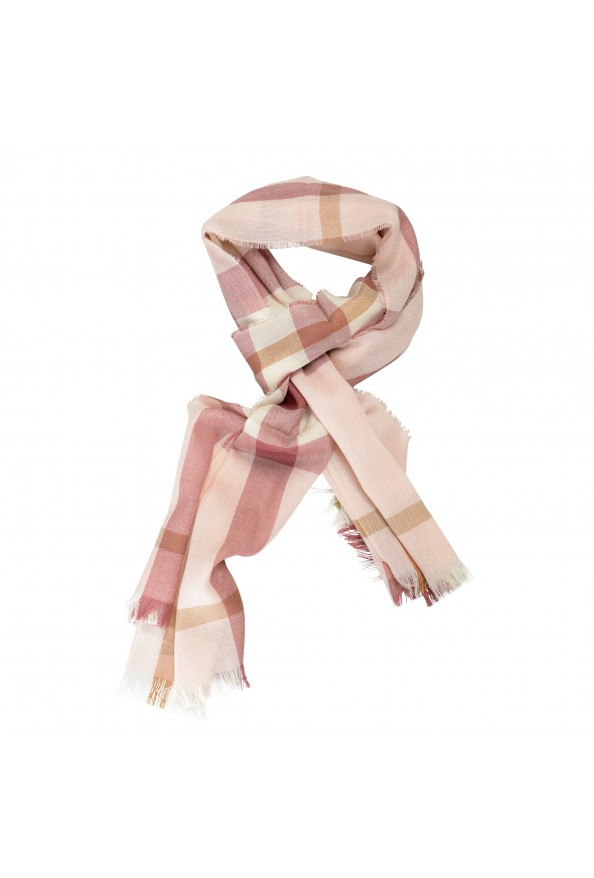 Burberry Unisex Multi-Color Plaid Wool Cashmere Shawl Scarf: Picture 3