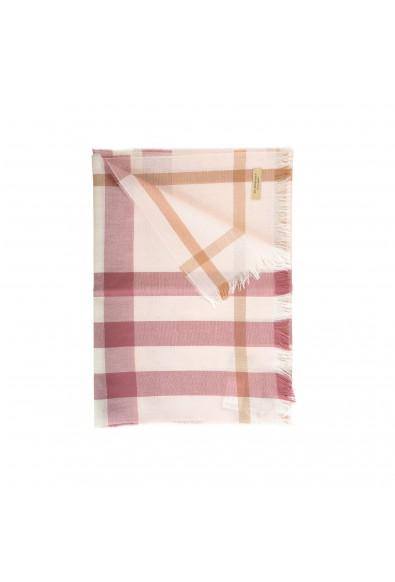 Burberry Unisex Multi-Color Plaid Wool Cashmere Shawl Scarf