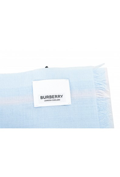 Burberry Unisex Multi-Color Plaid Wool Silk Shawl Scarf: Picture 2