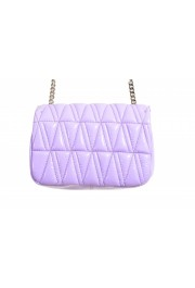 Versace Women's Purple Virtus Quilted Leather Evening Bag: Picture 4