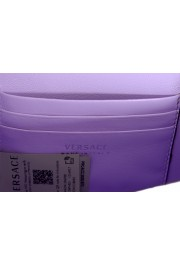 Versace Women's Purple Virtus Quilted Leather Evening Bag: Picture 6