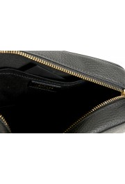 Versace Women's Black Medusa Textured Leather Crossbody Bag: Picture 4