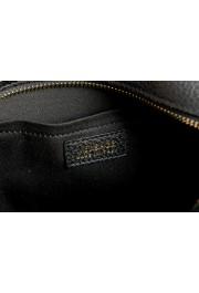 Versace Women's Black Medusa Textured Leather Crossbody Bag: Picture 5