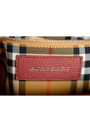 """Burberry Women's """"Baby Banner"""" Red Textured Leather Handbag Bag: Picture 7"""