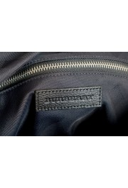 "Burberry Women's ""Trenton"" Black Leather Trimmed Tote Handbag Bag: Picture 7"