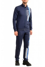 Emporio Armani EA7 Men's Dark Blue Logo Print Track Sweat Suit: Picture 2