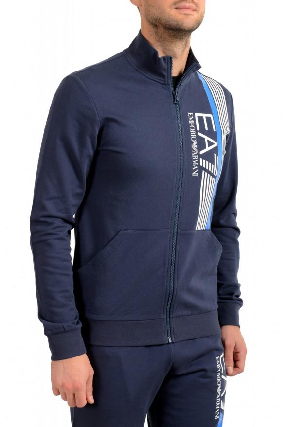 Emporio Armani EA7 Men's Dark Blue Logo Print Track Sweat Suit: Picture 5