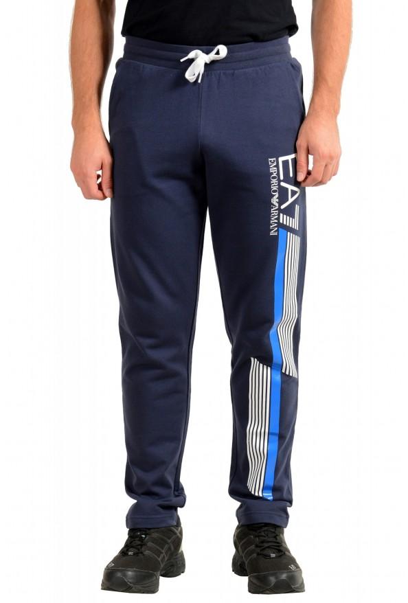 Emporio Armani EA7 Men's Dark Blue Logo Print Track Sweat Suit: Picture 8