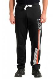 Emporio Armani EA7 Men's Black Logo Print Track Sweat Suit: Picture 8