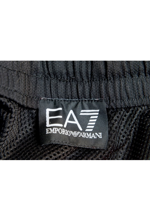 Emporio Armani EA7 Men's Black Logo Print Track Sweat Suit: Picture 13