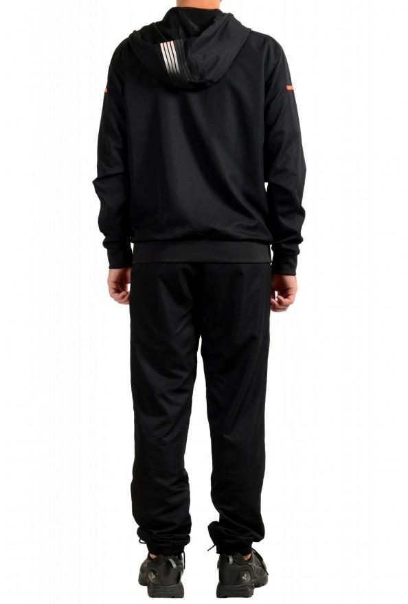 Emporio Armani EA7 Men's Black Logo Print Track Sweat Suit: Picture 3
