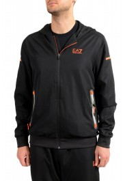 Emporio Armani EA7 Men's Black Logo Print Track Sweat Suit: Picture 4