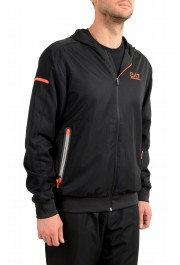 Emporio Armani EA7 Men's Black Logo Print Track Sweat Suit: Picture 5