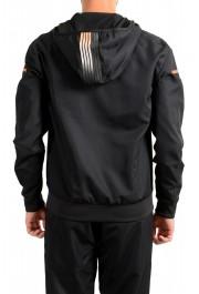 Emporio Armani EA7 Men's Black Logo Print Track Sweat Suit: Picture 6