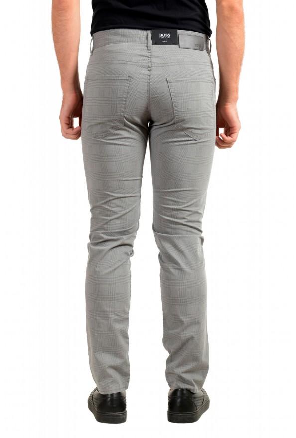 """Hugo Boss Men's """"Delaware3-9-20"""" Slim Fit Plaid Straight Leg Jeans: Picture 3"""