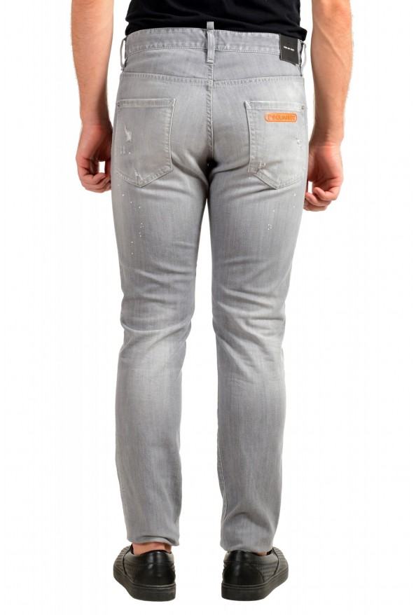 """Dsquared2 Men's Gray Distressed Look """"Cool Guy Jean"""" Jeans: Picture 3"""