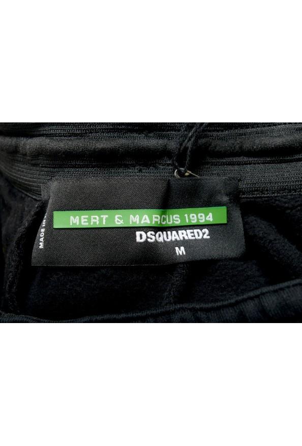 "Dsquared2 & ""Mert & Marcus 1994"" Men's Black Sweatpants: Picture 5"