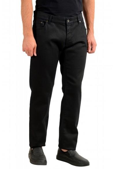 Dolce & Gabbana Men's Black Stretch Straight Leg Jeans: Picture 2